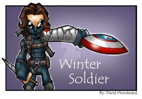 Winter Soldier by badgerlordstudios