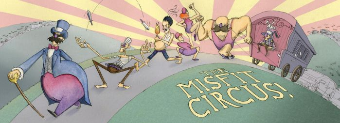 Misfit Circus by The-Mack