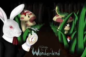 Welcome to Wonderland by MerrBakeneko