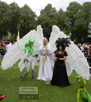 Big White Wings Cosplay by pure-faces