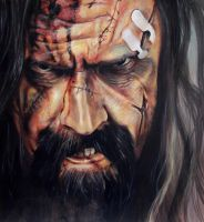 Rob Zombie by Azzopardi666