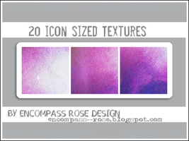Icon Textures_10.12_Set 1 by rosebfischer
