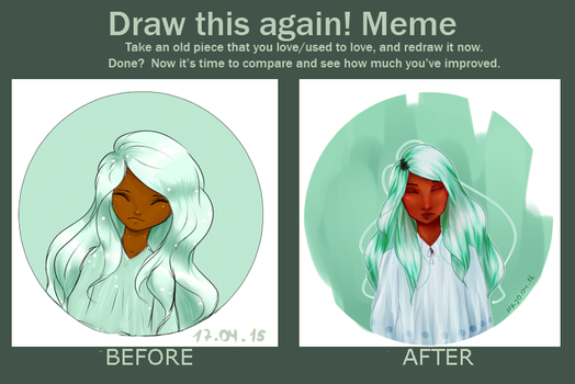 Draw this again! - Mint Child by ZNToast