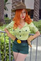 Jessica Rabbit Park Ranger Preview by MomoKurumi