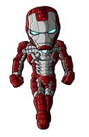 Chibi Movie Iron Man Mk 5 by GuyverC