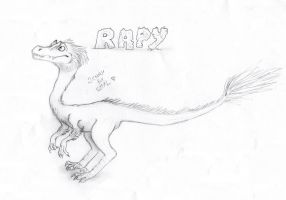 Rapy the Raptor by Galhaad