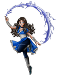 Katara - Waterbending by kitsune999