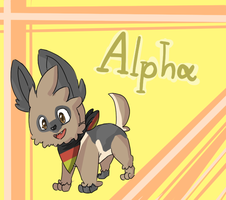 Alpha the Lillipup .:German Shepherd:. by PikaIsCool