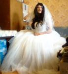 CD in wedding gown, March 2015 (3) by Ibbie89