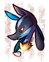 Lucario by blubified