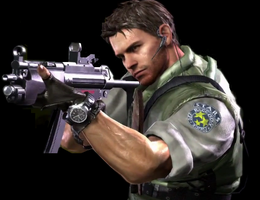 Chris Redfield by Cheli-chan