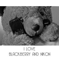 Blackberry and Nikon by fiegga