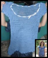 Crocheted Shirt by Hesperie