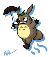Totoro by DJ-Catsume