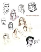 Sketchdump I 2013 by seconte