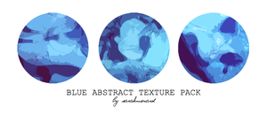 Blue Abstract Texture Pack by SarahMenard