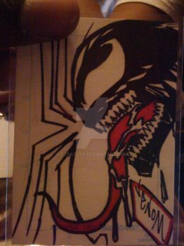 Venom Sketch card by StratusX