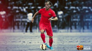 Ivan Rakitic FC Barcelona wallpaper 2014/15 by SelvedinFCB