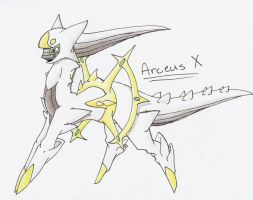 Arceus X by CelestialTentails