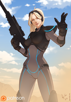[P] Heroes of the Storm: Nova by Shunkaku