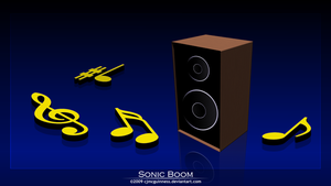 Sonic Boom by cjmcguinness