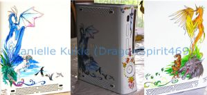 XBox 360 Paintings by DragonSpirit469