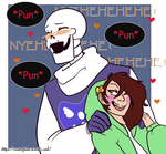Storyshift : Papyrus X Chara by Geeflakes-art