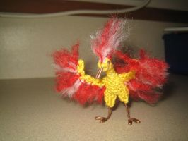 Itty Bitty Moltres by schazer