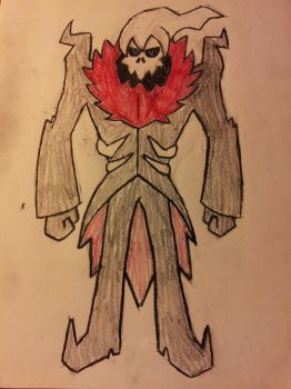Thanatos: King of Ghosts by superpika293