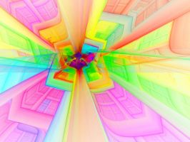 Psychedelic Elevation by Virginia-Fred