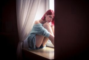 Window sill by Ashiwa666