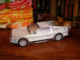 DeLorean by toader