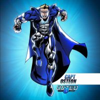 The OsteoCorps - Captain Osteon by Shwann