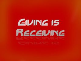 Giving is Receiving by UJz