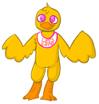 FNAF: Chica by 5M0GGY