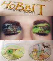 The Hobbit makeup by Jaqalynn