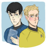 Star Trek: Spirk haaaaaaa by LuffYu