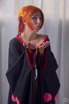 Nami One Piece Cosplay Kiss for Luffy or for Zoro? by konohanauzumaki