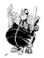 What if Judge Dredd had an underactive thyroid? by allistermac