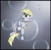 Day 5: Derpy Filly by dreigun