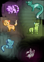 **OPEN**Plush Adopts! (Five points each!) by Sia-Kitty