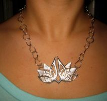Lotus Pendant by AneenA