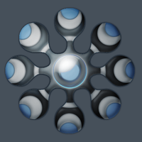 Eight Segment Interface. by Zimed