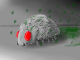 Silverfish Realistic by ToaLittleboehn
