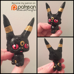 ( Pokemon ) LPS Custom Umbreon Toy by KrazyKari