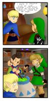 Skyward sword comic by jordgubbsanka