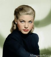 Lauren Bacall by M3ment0M0ri