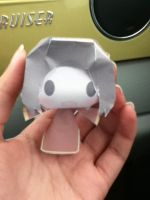 A Hetalia Paper Craft I made in the car :D by ThatNekohacker