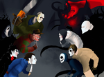 Fright battle by Coffee-For-The-Dead