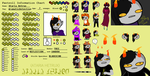 Ataria Hetrux Reference Sheet --GIFT-- by OfficialDarkGravity